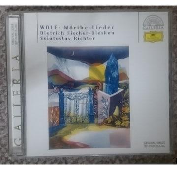 KF  フーゴ・ヴォルフ  メーリケ歌曲集
