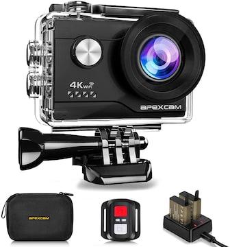 アクションカメラ 4K高画質 2000万画素