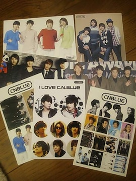 CNBLUE  ポストカード 4枚  シール 3枚