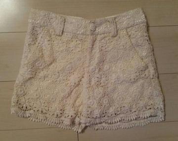 ●FREE´S SHOP●刺繍ショートパンツ/sizeM
