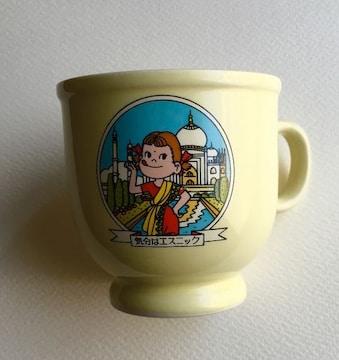◆ペコちゃん プリンマグカップ 『気分はエスニック』