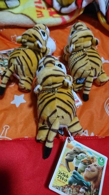 新品 シャクレルプラネット  タイガー 3個セット < おもちゃの