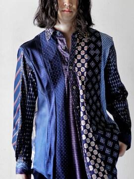 新品!!(定価75900)バックラッシュ・USED TIE リメイクシャツ
