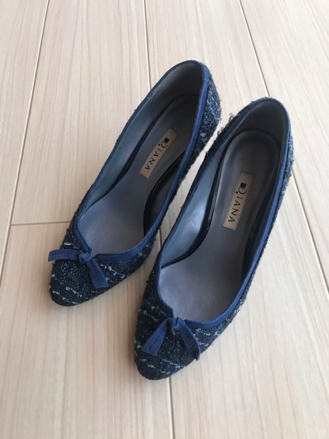DIANA ダイアナ パンプス 靴 シューズ レディース 23  < 女性ファッションの