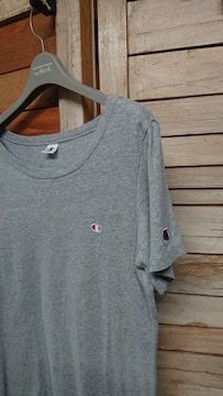 チャンピオン/Champion 刺繍 Tシャツ レディース L