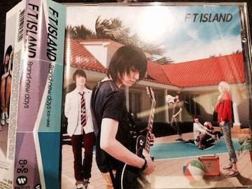激安!超レア!☆FTISLND/Brand-newdays☆初回盤/CD+DVD☆超美品!!