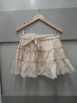 TRALALA☆ギンガムチェック柄ボリュームスカート