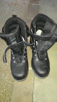 ミドリ安全 ブーツタイプ安全靴 26.5cm 紐無し
