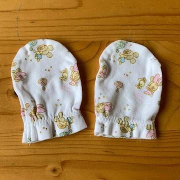新生児ベビーミッキー手袋