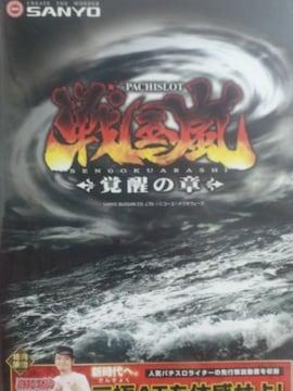 【パチスロ 戦国嵐〜覚醒の章】非売品プロモーションDVD