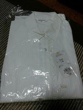 フリルブラウス ストライプ Yシャツ ブラウス 新品未使用