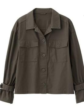 ◆ベルトスリーブワークシャツジャケット◆