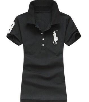 正規■POLO ポロ ラルフローレン レディース ポロシャツ L