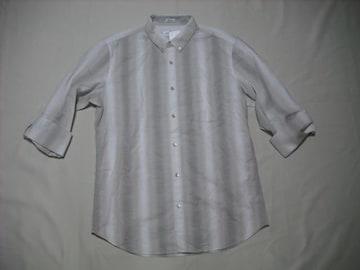 fy922 男 CK CALVIN KLEIN カルバンクライン チェックシャツ M