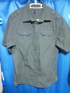 ミリタリーシャツ◇Lサイズ