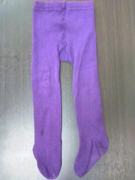 Size85cm/紫タイツ//