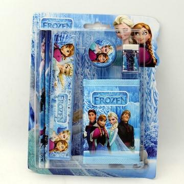 ◆◇アナと雪の女王 5点文具&財布セット◆◇