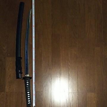 演舞刀 状態良好 美しいアルミ刀身の ぶ厚い刀身