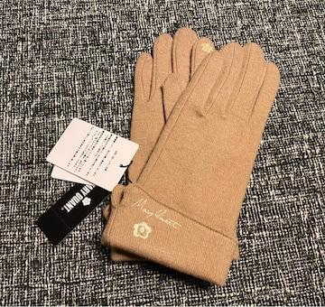 新品☆MARY QUANT(マリークワント)スマホOKウール手袋☆