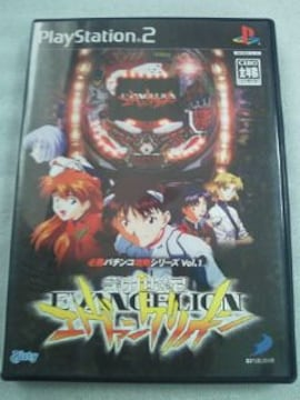 SONY ソニー PS2 ゲーム ソフト パチンコ CR 新世紀 エヴァンゲリオン