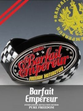 BarfaitEmpereur(バルフェアンプルール)バックルベルト黒