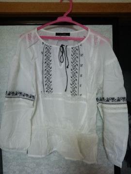 w closet シャーリングシャツ
