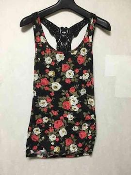 花柄★タンクトップ/タンク/インナー