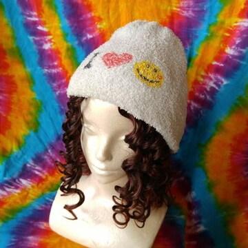 モコモコッ♪ニコちゃんが激カワなニット帽子
