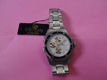 Bernatoの腕時計 メンズ 新品タグ付き チタン製!。