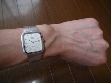セイコードルチエの腕時計 希少 稼動品!。