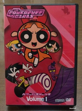 DVD  パワー パフ ガールズ   volume1