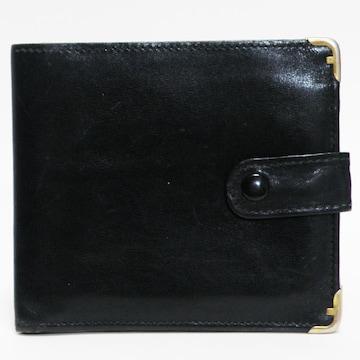 Ferragamoフェラガモ 二つ折り財布 札入れ 黒 良品 正規品