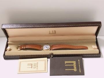 S125★美品 ダンヒルDUNHILL クオーツ レディース 腕時計 稼働品