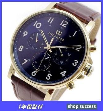 新品 即買い■ トミーヒルフィガー 腕時計 1710380 ブラウン
