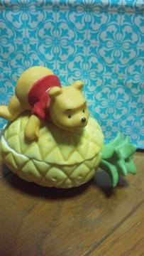 くまのプーさん パイナップル型小物入れ