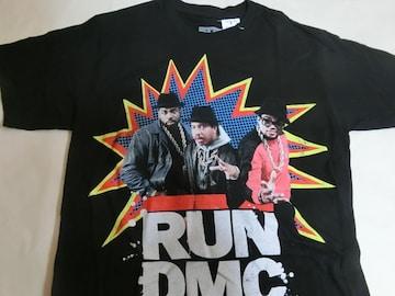 80年代 ヒップホップ ラップグループ【RUN D.M.C.】TシャツUS S