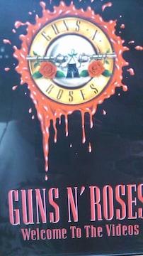 GUNS & RORSES♪期間限定DVD・送料込み
