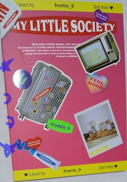 fromis_9 CD Album MY LITTLE SOCIETY MY ACCOUNT Ver 新品