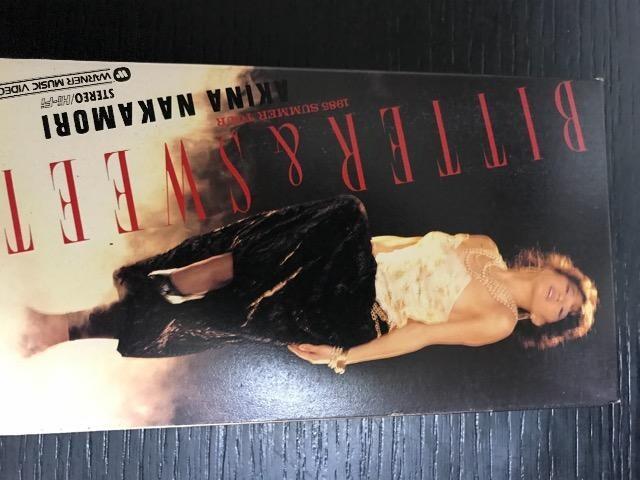 中森明菜 ビター&スウィート 1985 サマーツアー VHS  < タレントグッズの