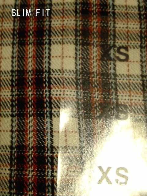 □GAP/ギャップ 七分袖 チェック シャツ/XS・メンズ☆新品 < ブランドの