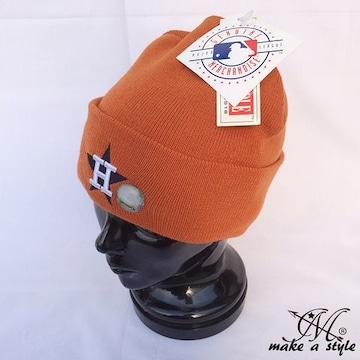 ヒューストン アストロズ ニットキャップ AMERICAN NEEDLE 484