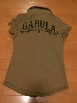 ◆GARULA ◆刺繍デカロゴカットソー◆BR ◆