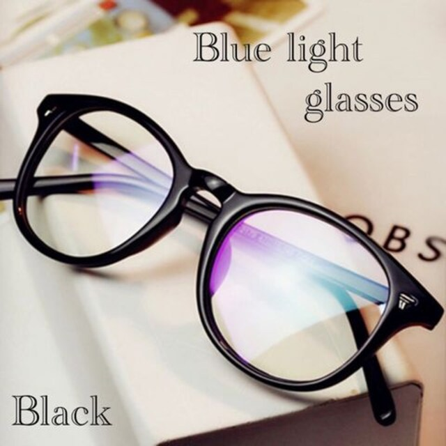 ボストン メガネ ブルーライトカット 伊達眼鏡 丸型 PC用メガネ  < 女性ファッションの