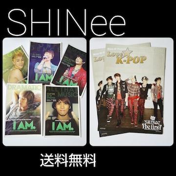 レア★SHINee(シャイニー)冊子&ポスカ等★ジョンヒョン/ミンホ直