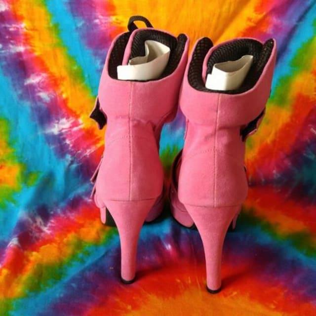 超Sexy(*≧ω≦)スエード厚底スニーカーブーツ■ショートブーツ < 女性ファッションの