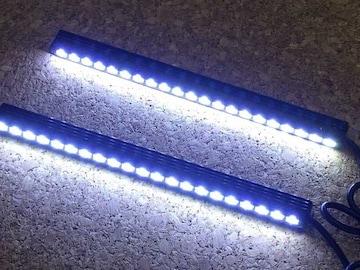 細型21連LEDデイライト ブルーランプ   デコレイトランプ 9w