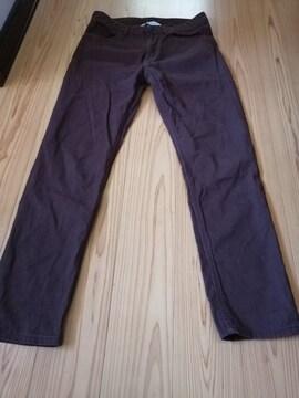 H&Mブラウンpants