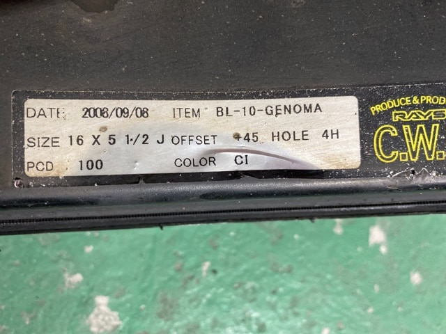 7071556)激安RAYSメッキ16インチ軽カ-サイズ新品タイヤセット165/40R16送料無料 < 自動車/バイク