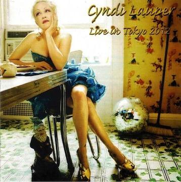 【送無】Cyndi Lauper シンディーローパー Tokyo,Japan 2012 2CD