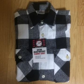 Rothco ロスコ ネルシャツ チェック 定番 フランネルシャツ ブラック 美品 アメカジ チカーノ